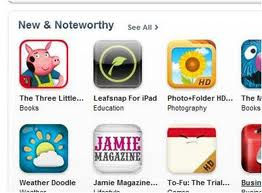 Nosy Crow sell their book apps through the Apple app store
